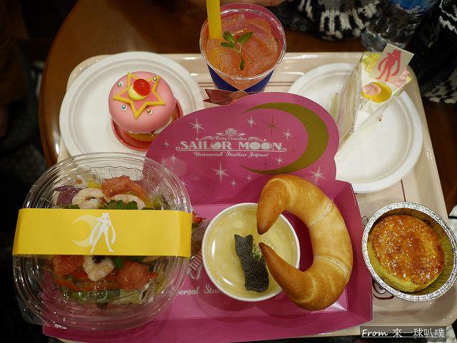 日本大阪環球影城COOL JAPAN柯南/魯邦三世飛車設施商品美食