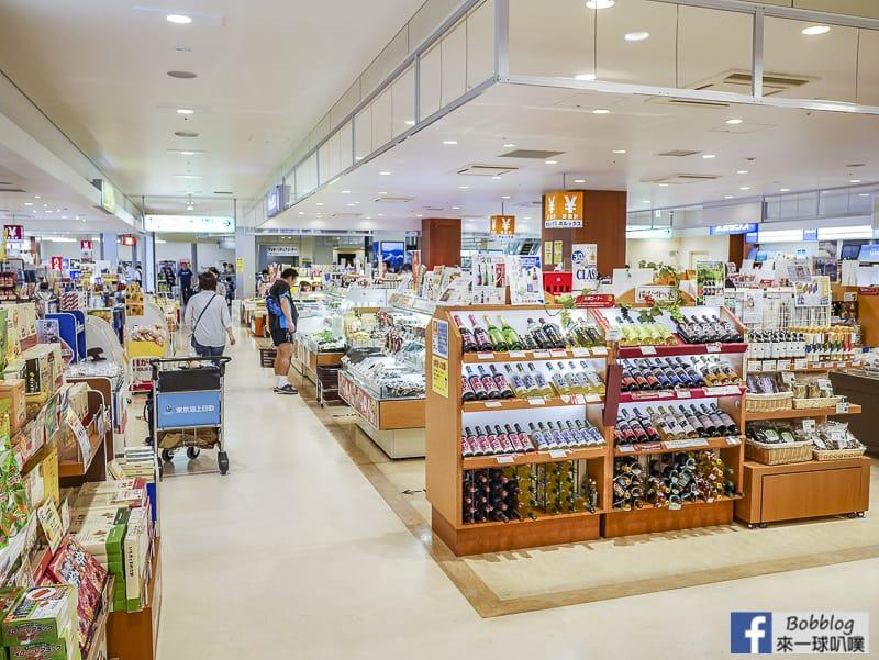 Hakodate airport depart 28