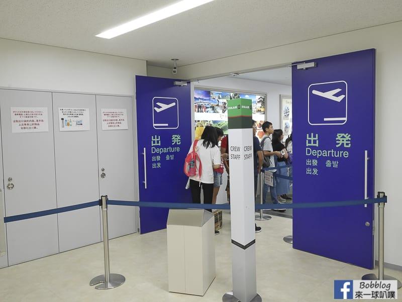 Hakodate airport depart 41