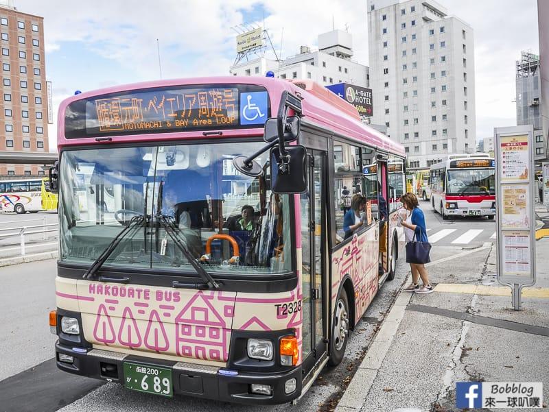 延伸閱讀:函館交通-函館路面電車、函館巴士(市區巴士路線,景點交通)