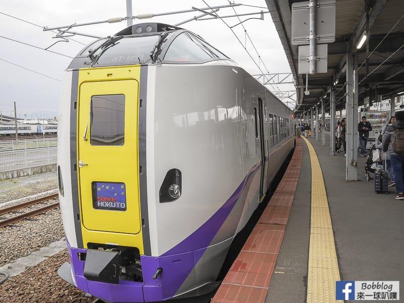 Hakodate to noboribetsu train 6