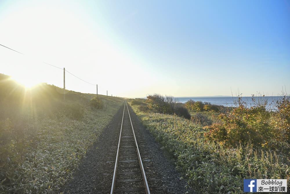 北海道道東|冬天限定觀光列車流冰物語號(網走~知床斜里時刻表,車資)