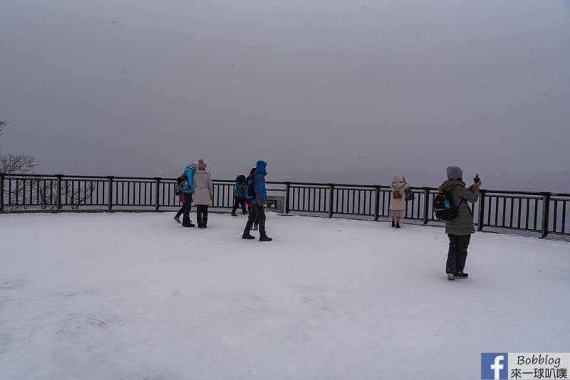 Lake Mashu winter 14
