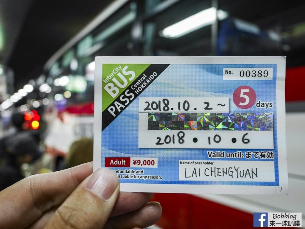 Sapporo to Furano bus 4