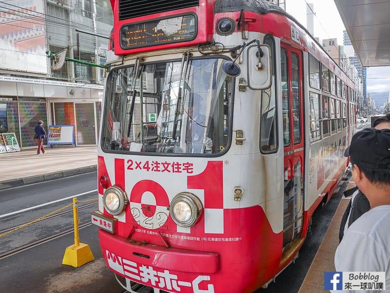 Sapporo streetcaar 13