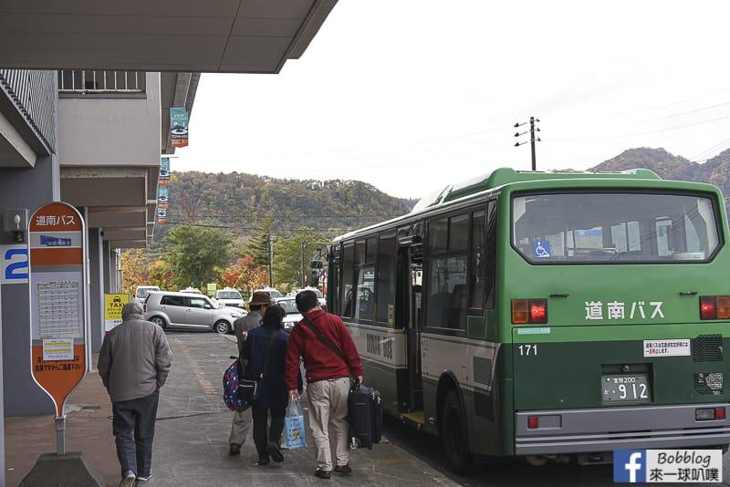 北海道洞爺湖巴士中心(寄物櫃、常見巴士路線、租腳踏車)