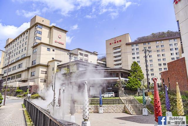 北海道登別溫泉街逛街(閻魔堂地獄審判,紀念品,美食) @來一球叭噗日本自助攻略