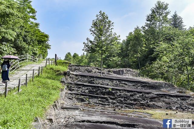 北海道洞爺湖-西山山麓火口散策路線(有珠火山噴發遺跡)