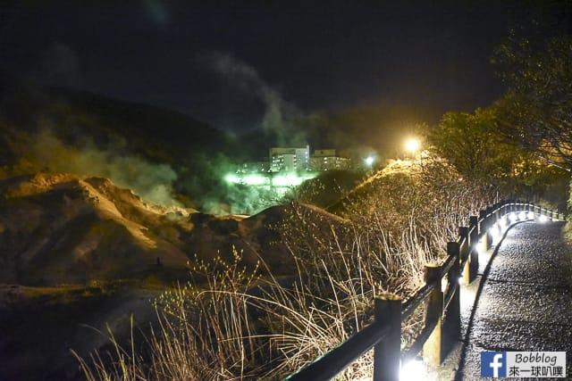 Noboribetsu-Jigokudani-illumination-3