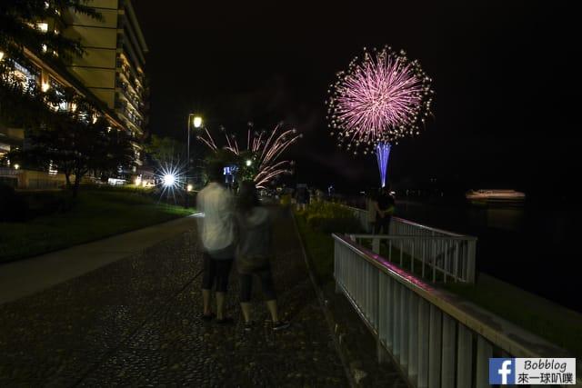 Toyako-Onsen-fireworks