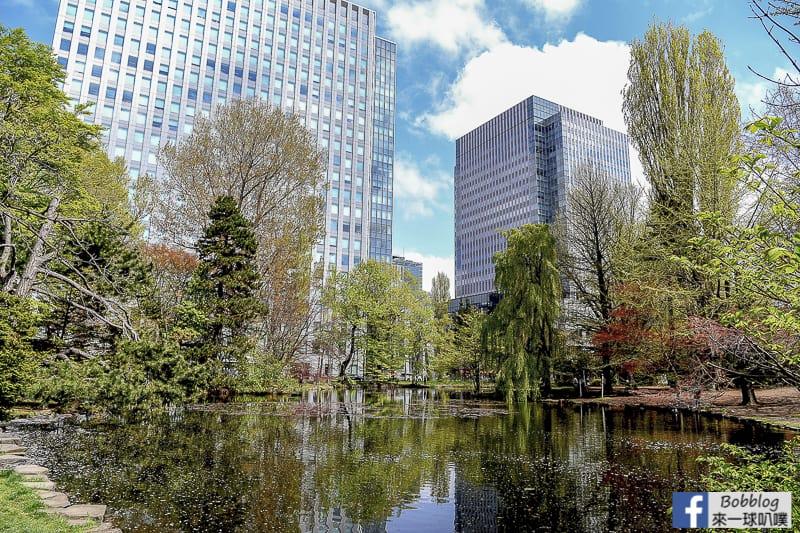 Former hokkaido government office building sakura 5