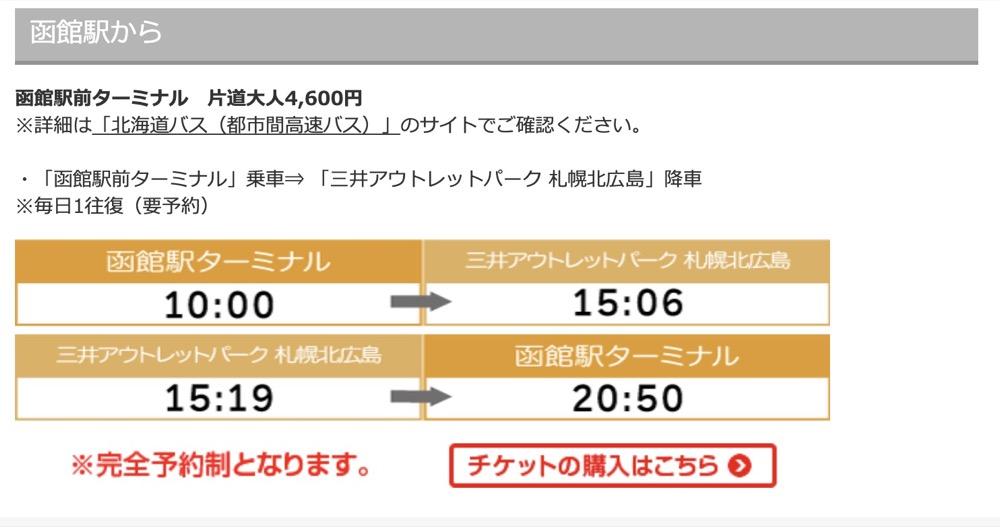 札幌、新千歲機場到札幌北廣島 三井奧特萊斯購物城交通