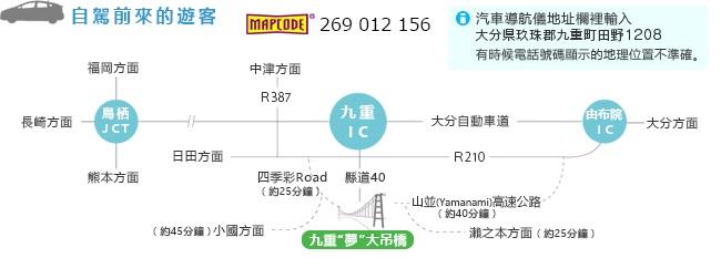 九州大分縣-九重夢大吊橋(日本最高吊橋,九重夢漢堡跟冰淇淋)