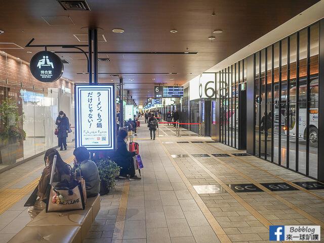 福岡機場,博多巴士中心站,天神高速巴士中心到小倉高速巴士交通 @來一球叭噗日本自助攻略