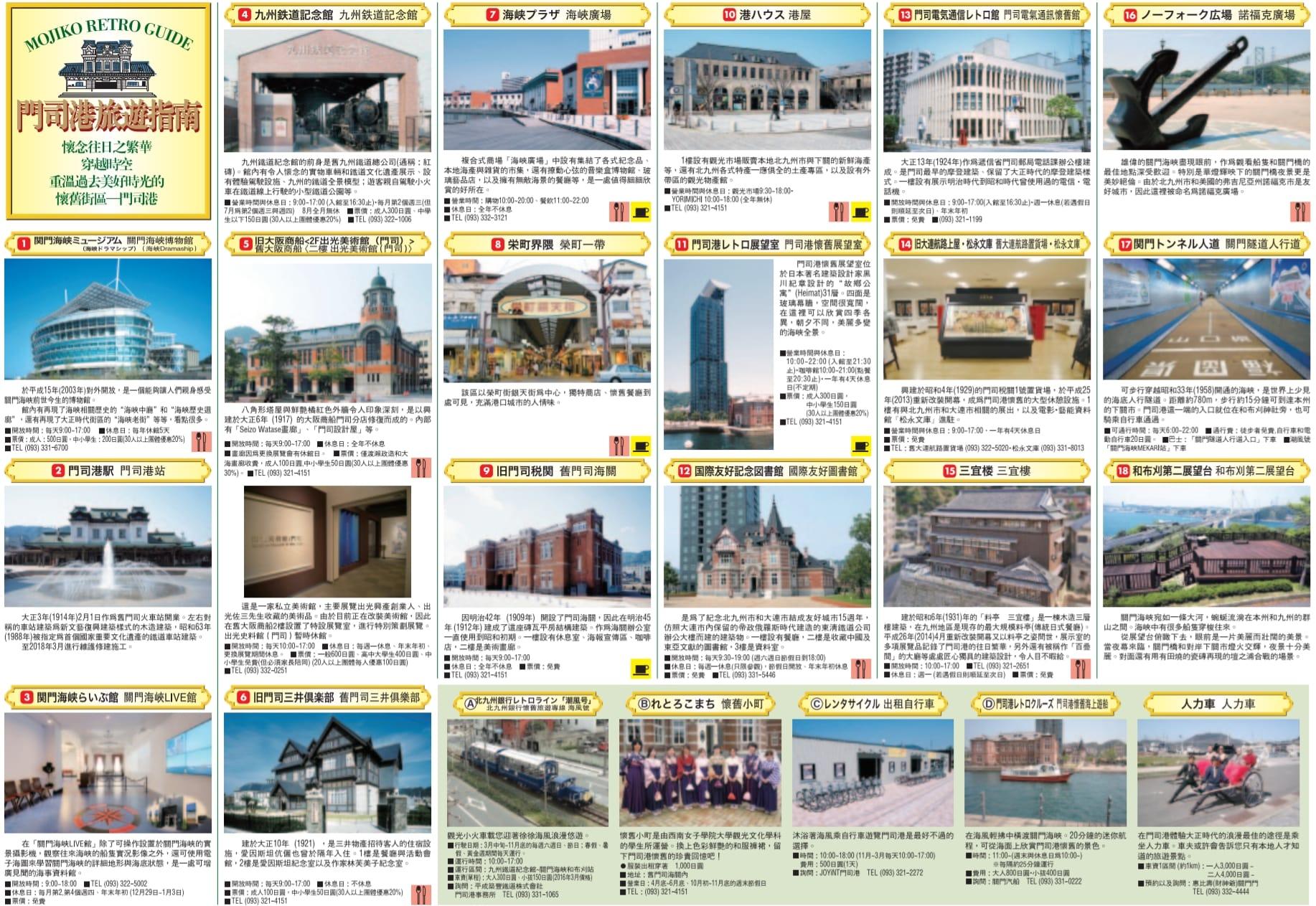 北九州門司港懷舊地區半日遊行程、景點、美食、交通