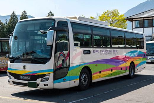 別府市區交通 龜之井路線巴士、別府巴士一日券、循環觀光巴士