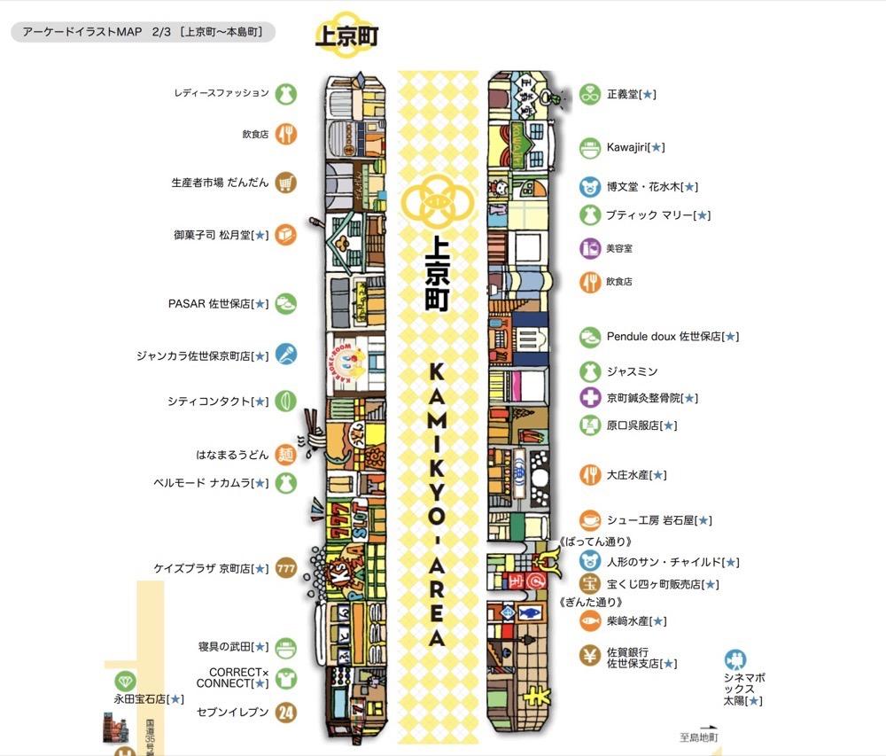 Sasebo shopping1