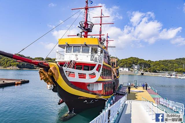 長崎佐世保九十九島遊覽船(超美風景,船票,交通)