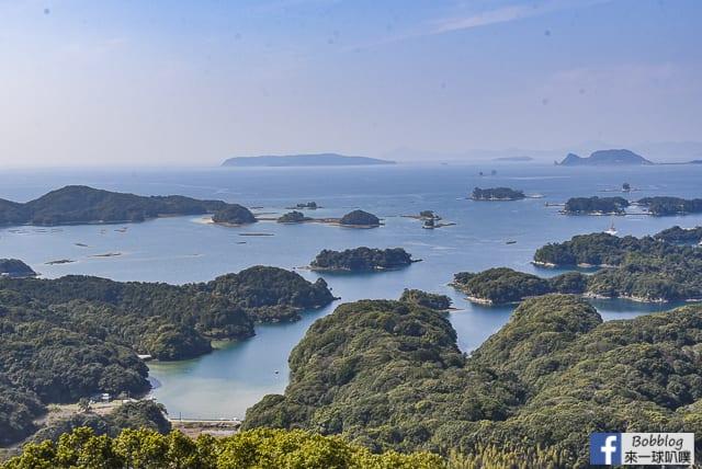 佐世保九十九島展望台-展海峰展望台(超美風景,巴士交通) @來一球叭噗日本自助攻略