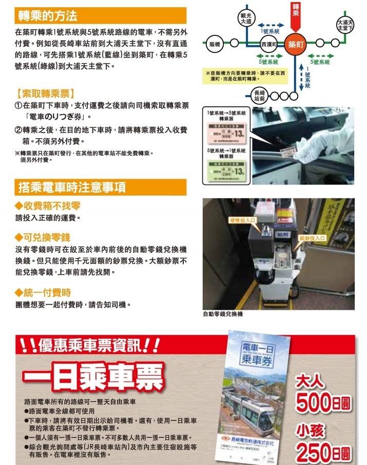 九州長崎旅遊景點、長崎交通地圖整理下載 @來一球叭噗日本自助攻略