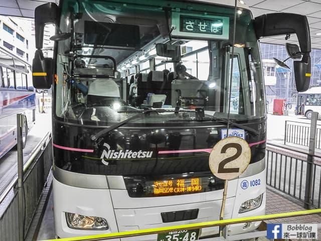 2019福岡,熊本,長崎,佐賀到佐世保交通整理(JR九州鐵路,巴士)