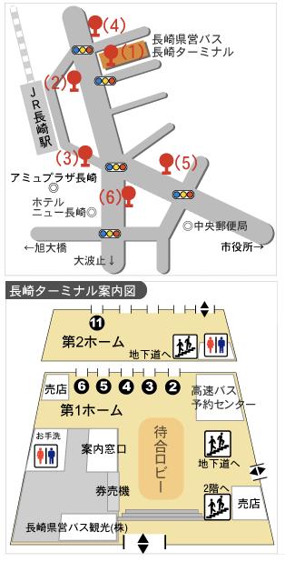 九州長崎佐世保豪斯登堡交通方式整理(JR九州鐵路、巴士、觀光巴士)