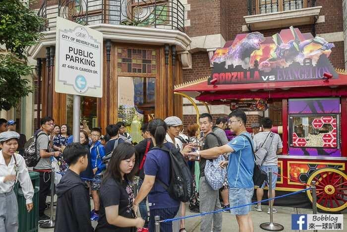 大阪環球影城哥吉拉X新世紀福音戰士爆米花桶購買攻略(限量商品!) @來一球叭噗日本自助攻略