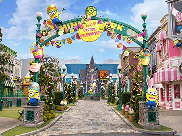2019日本大阪環球影城復活節開跑啦(超可愛小小兵樂園,環球奇境) @來一球叭噗日本自助攻略