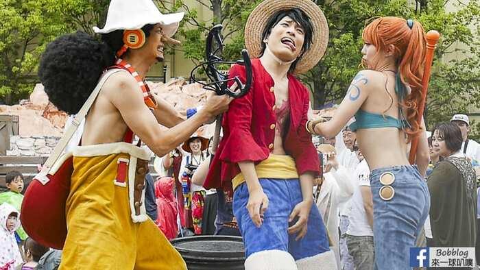 2019大阪環球影城表演秀攻略(夏季海賊王,水遊行,夏日水戰)