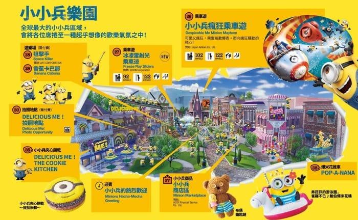 [大阪環球影城]2019小小兵樂園美食餐廳|小小兵爆米花 @來一球叭噗日本自助攻略