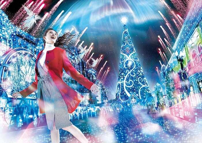 2019大阪環球影城表演秀攻略(環球水晶聖誕點燈,聖誕節表演)