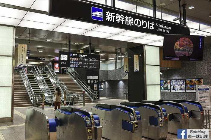 Kanazawa to toyama shinkansen 6