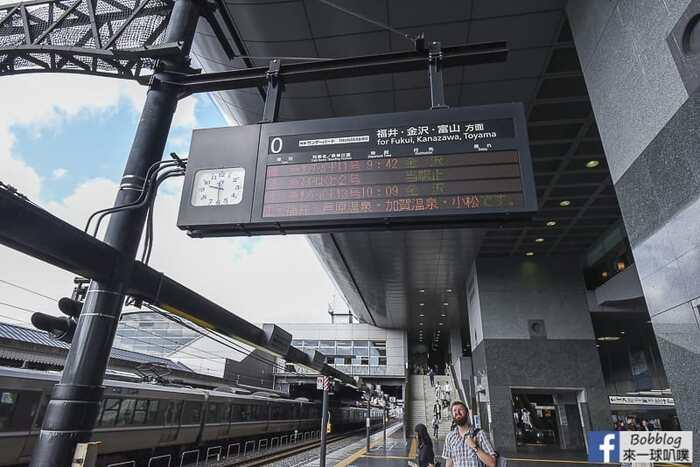 Kyoto to kanazawa thunderbird train 12