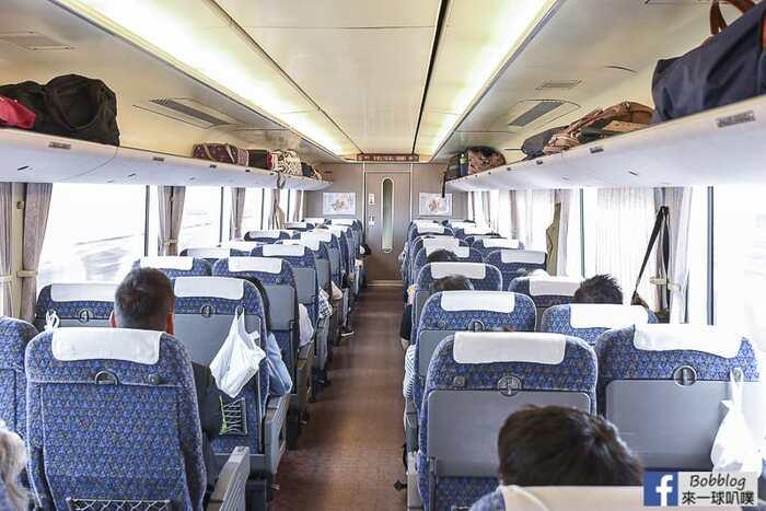 Kyoto to kanazawa thunderbird train 18