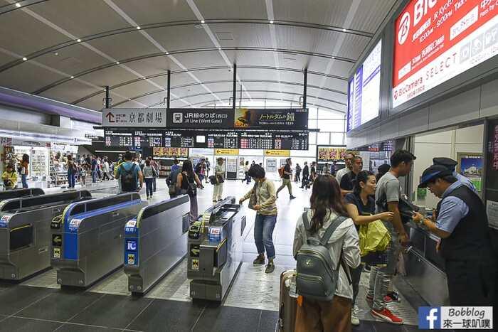 Kyoto to kanazawa thunderbird train 8
