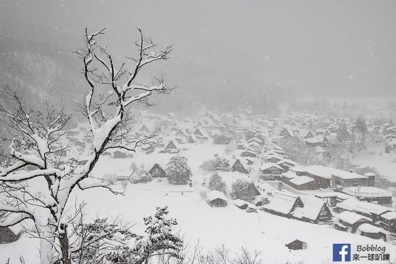 winter-shirakawa-go-Observation-deck-11