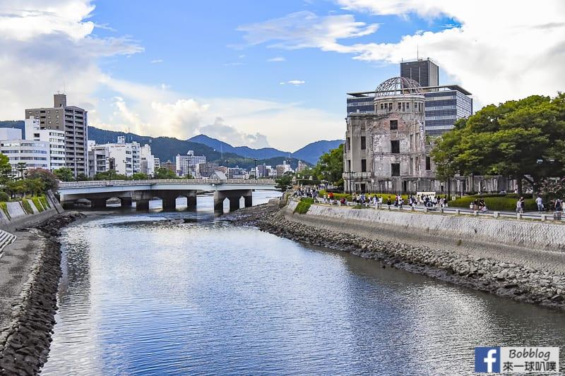 廣島和平紀念公園櫻花(300株櫻花,看原子彈爆炸遺跡)