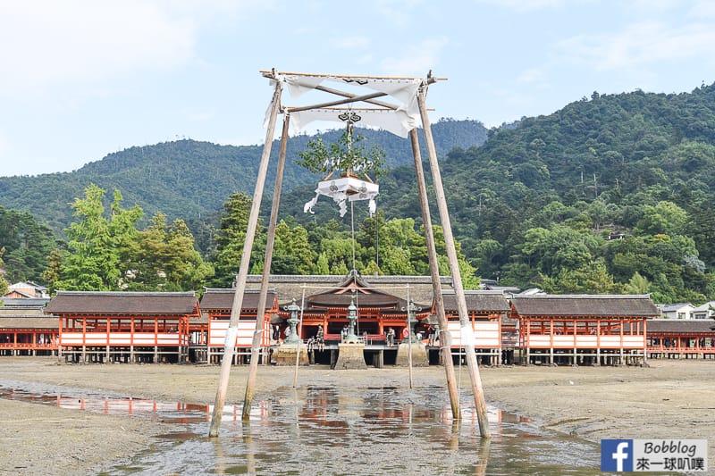 宮島嚴島神社(千年歷史神社,世界遺產,海上大鳥居)