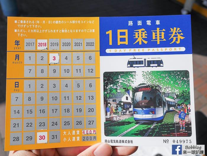 網站近期文章:日本岡山路面電車一日券購買方式、地點、使用方式