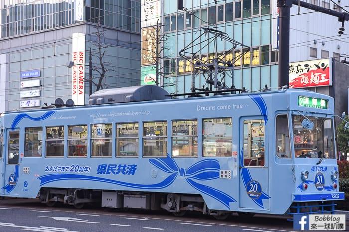 延伸閱讀:岡山交通|岡山路面電車搭車方式、路面電車一日券、景點推薦