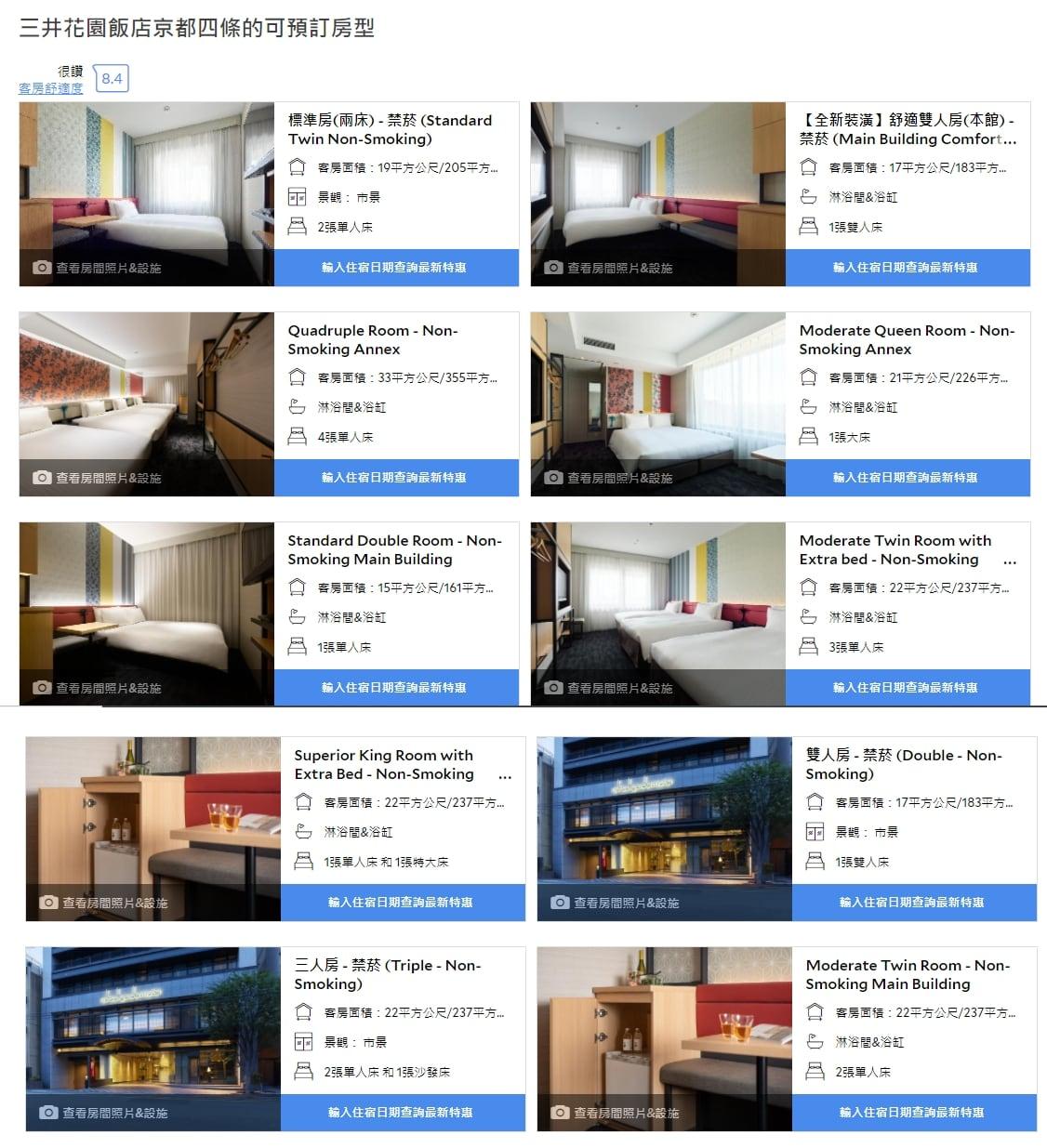 京都河原町住宿|京都四條三井花園飯店(2020重新裝潢過,性價比高)