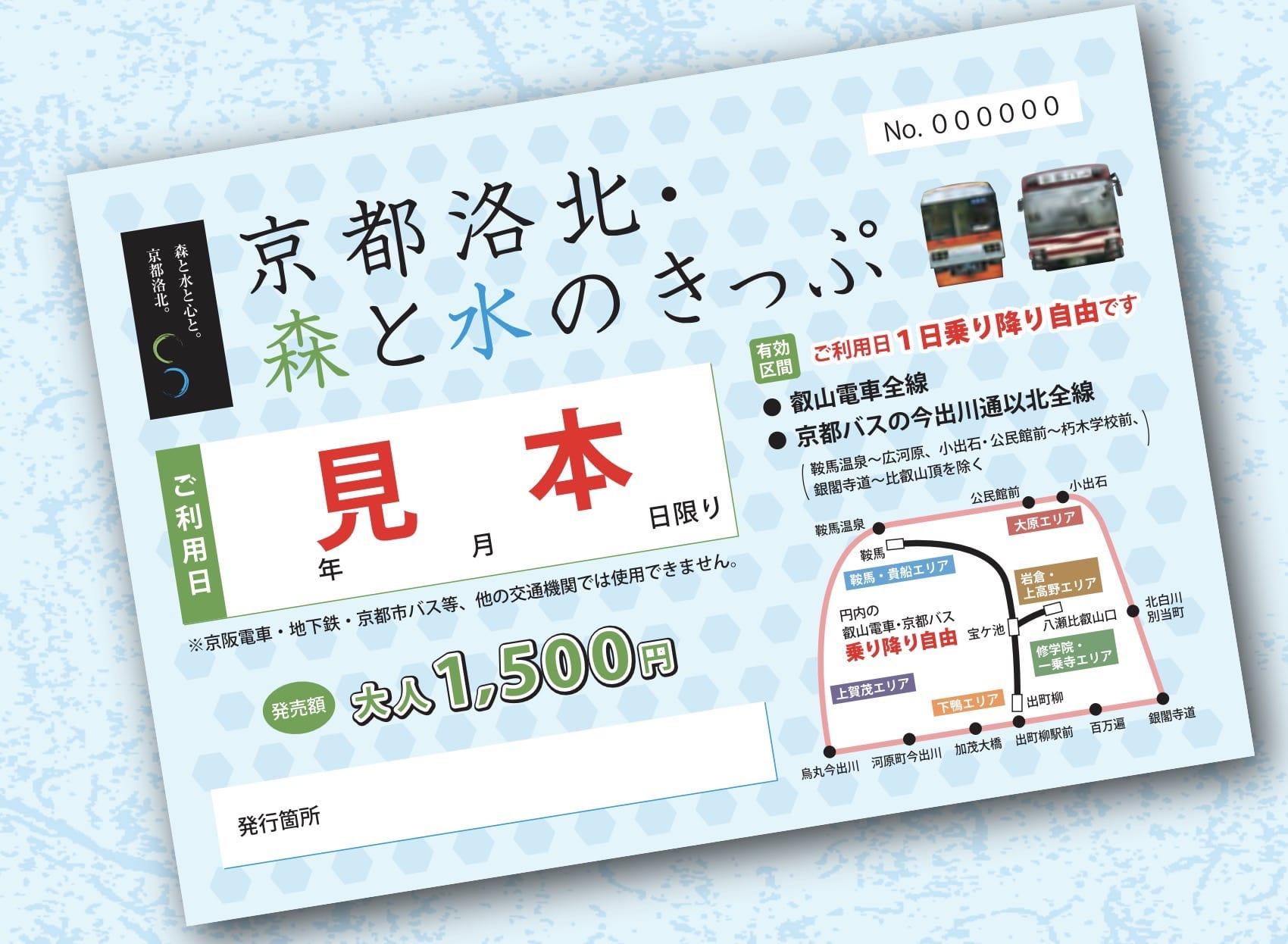 網站近期文章:京都洛北森與水套票(京都洛北・森と水のきっぷ)