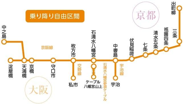 叡山電車京阪電車一日觀光券