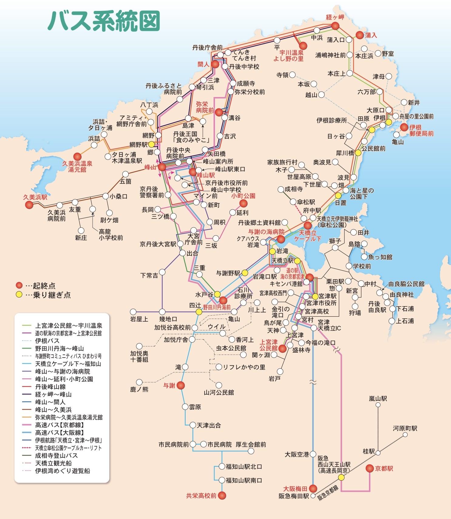 京都府北部丹後市巴士|丹海巴士路線、天橋立搭巴士到伊根町