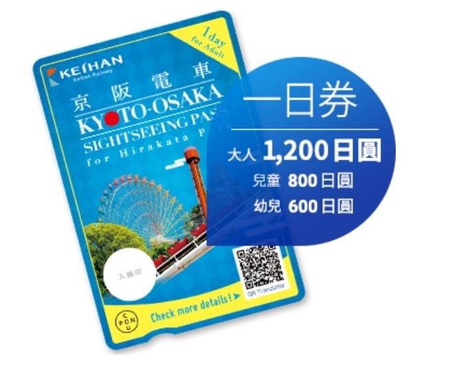 網站近期文章:京阪電車|京都大阪觀光乘車券(枚方公園擴大版)