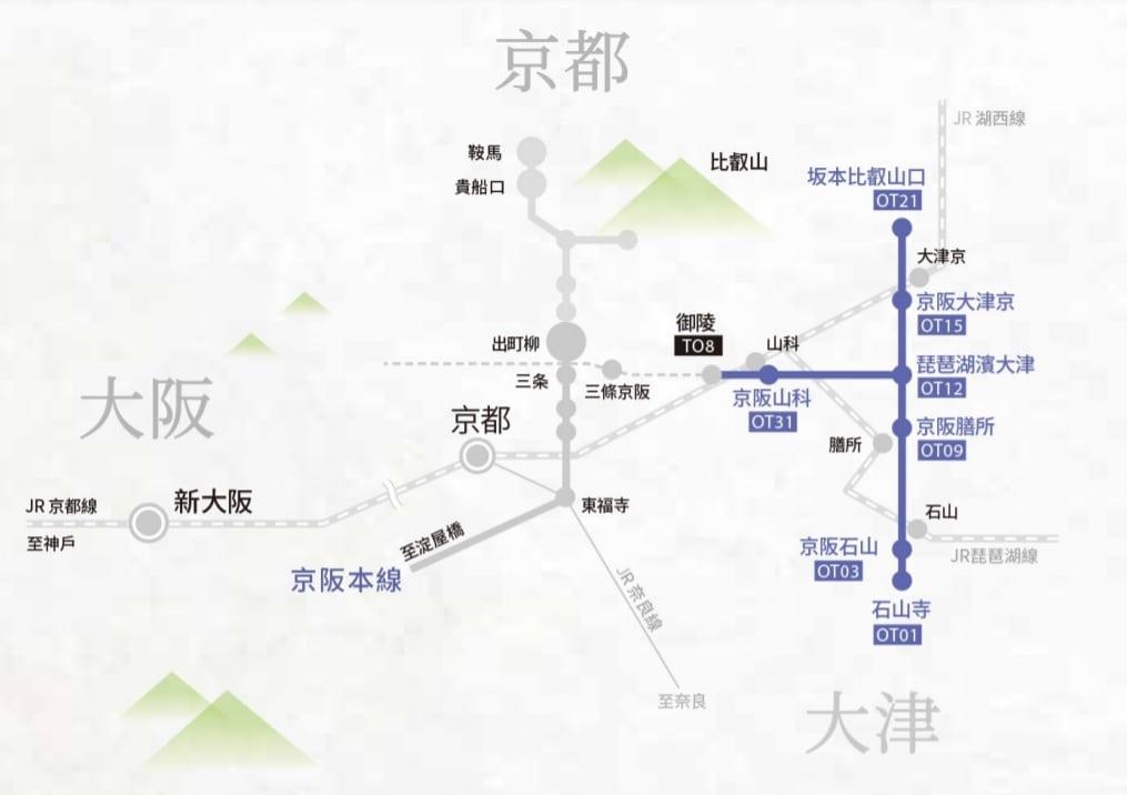 京阪電車交通票券整理、該買哪張票券、票價、購買地點