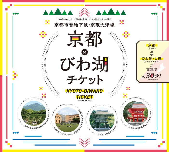 京都滋賀交通票券|京都琵琶湖券(京都・びわ湖チケット)