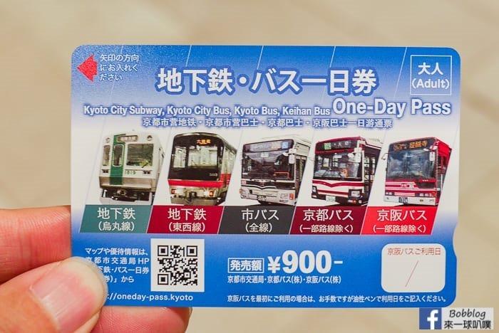 京都車站巴士票券中心、京都市巴士・地下鐵案内所購買交通票券