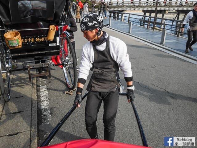 京都嵐山人力車-12