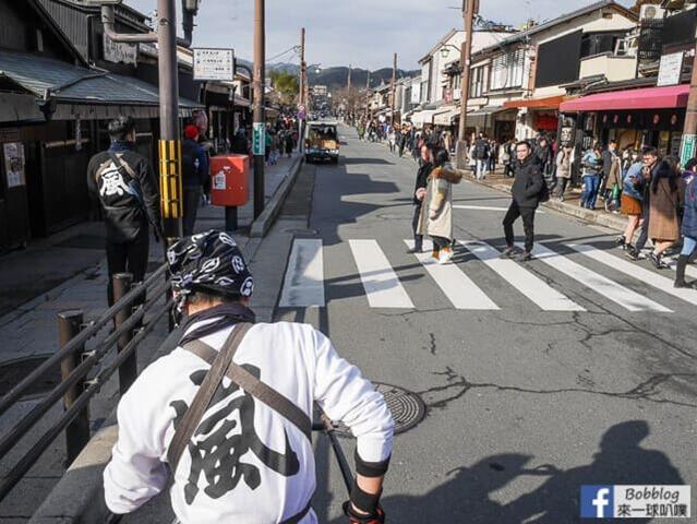 京都嵐山人力車-13